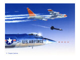X-15 Launch Giclee Print by Douglas Castleman