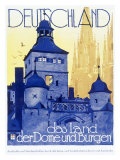 Germany, Land of Castles Giclee Print