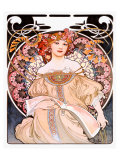 Reverie Giclee Print by Alphonse Mucha