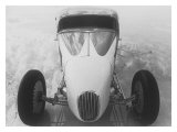 Coupe Heaven Salt Flat Racer Giclee Print by David Perry