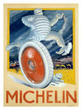 Michelin, Automotive Tire Giclee Print