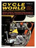 Cycle World, Triumph 650 TR6 Giclee Print
