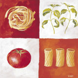 Italian Pasta Prints by Valerie Roy