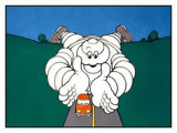 Michelin, Auto Care Giclee Print