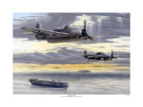 Torpedo Bomber Reproduction proc&#233;d&#233; gicl&#233;e par Don Feight