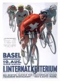 Criterium Bicycle Reproduction procédé giclée