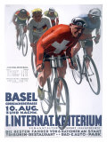 Criterium Bicycle Giclee Print
