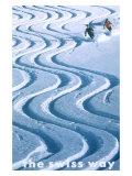 The Swiss Way, Ski Reproduction procédé giclée