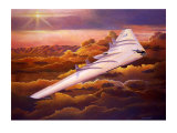 Northrup B49 Flying Wing Giclee Print by Douglas Castleman