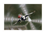 F-16 Fighter Jet Giclee Print by Don Feight