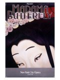 New York City, Madame Butterfly Giclee-vedos