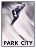 Park City Downhill Giclee Print