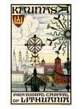 Kaunas, Lithuania Giclee Print