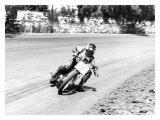Steve Eklund Flat Track San Jose Mile Giclee Print by Jerry Smith