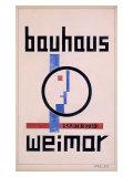 Weimar Bauhaus Museum Giclée-tryk