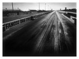 Famoso Drag Strip Giclee Print by David Perry