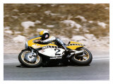 Roberts Yamaha Laguna Seca GP Giclee Print by Jerry Smith