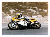 Roberts Yamaha Laguna Seca GP Giclee Print by Jerry Smith