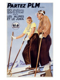 PLM, Snow and Ski Impression giclée