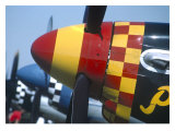 P-51 Prop Giclee Print by Graham Collins