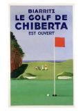 Biarritz Golf Chiberta Lámina giclée