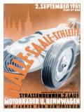 German Automobile Street Race, c.1951 Giclee Print