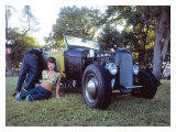 Pin-Up Girl: Rat Rod Boyfriend Giclee Print by David Perry