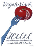 Vegetarian Restaurant Hiltl Giclee Print