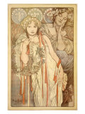 Friendship Giclee Print by Alphonse Mucha