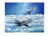 Lockheed Starfighter Giclee Print by Douglas Castleman