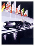 Panhard Automobile le Mans Racing Giclee Print