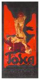 Tosca Puccini Opera Reproduction procédé giclée