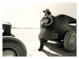 Pin-Up Girl: Salt Flat Safari Giclee Print by David Perry