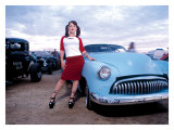 Pin-Up Girl: Rock a Billy Chop Top Giclee Print by David Perry