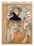 Latin Quarter Giclee Print by Alphonse Mucha