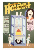 Houdini, Water Torture Escape Giclee Print