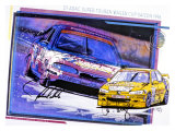 Michelin, Tire Ford Trans Am Giclee Print