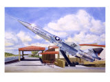 F-104 Star Fighter Giclee Print by Douglas Castleman