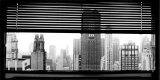 Blick über Manhattan, New York Poster von Torsten Hoffman