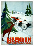 Michelin, Snow Tire Giclee Print