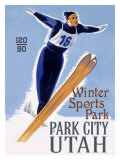 Park City Jumper Giclee Print