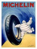 Michelin, Globe Trotting Giclee Print