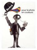 Kodak Color Film Process - Giclee Baskı