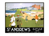 LNER, St. Andrews, c.1920 Giclee Print by Henry George Gawthorn