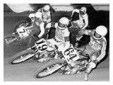 Flat Track Giclee Print by Dan Mahoney