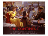 The Continent, 1936 Giclee Print by W. Smithson Broadhead