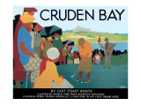 LNER, Cruden Bay, c.1930 Giclee Print by Tom Purvis