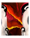 Penguin Love Giclee Print by Kimmary I. MacLean