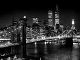 New York, New York, Brooklyn Bridge アート : アンリ・シルバーマン