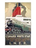 LNER, Cunard Line, White Star, 1923-1947 Giclee Print